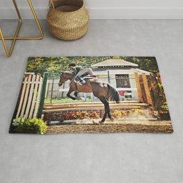 Equestrian love Rug