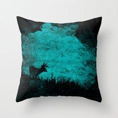 Patronus in a Dream Throw Pillow