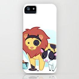 Lion Cow iPhone Case
