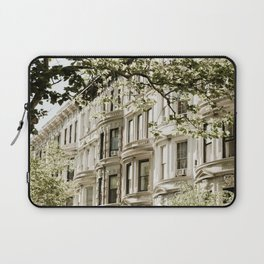 Between Columbus and Amsterdam Laptop Sleeve