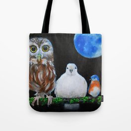 Wisdom Peace and Happiness Tote Bag