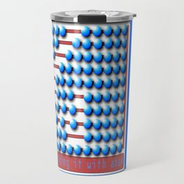 Abacus calculator Travel Mug