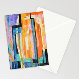 Abstract Art - Sound of Silence Stationery Cards