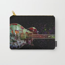 Sounds of music. Colorful guitar. Carry-All Pouch