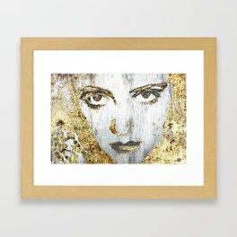 Silver Screen Bette Davis 1 Framed Art Print