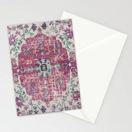 Antique Persian Carpet Nova Abstract Stationery Cards