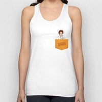 oitnb Tank Tops featuring Red OITNB by StephDere