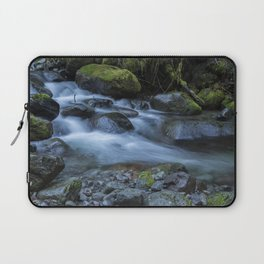 Water, Moss and Rocks Laptop Sleeve