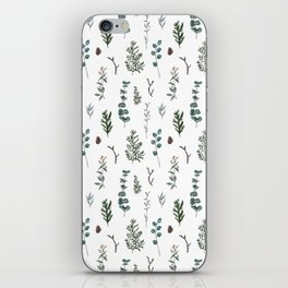 Pine and Eucalyptus iPhone Skin