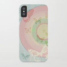 Pin my Wings iPhone X Slim Case