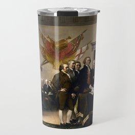 Signing The Declaration Of Independence Travel Mug