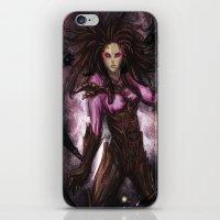 starcraft iPhone & iPod Skins featuring Kerrigan by Midnight Tardis