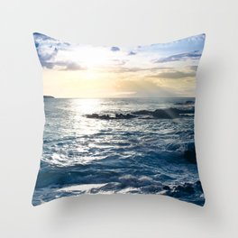 Conference in the Clouds Throw Pillow