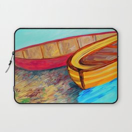 Boats in Waiting Laptop Sleeve