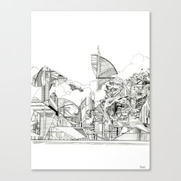 Urbanscape Canvas Print
