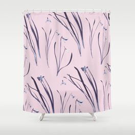 GALANTHUS IN CLASSIC ROSE Shower Curtain