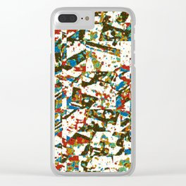 Warm Strat Clear iPhone Case