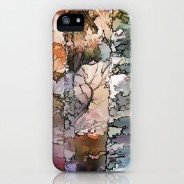 Autumn Aspen Trees - 1 by OLena Art - brand iPhone Case