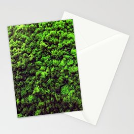 Dark Green Moss Stationery Cards