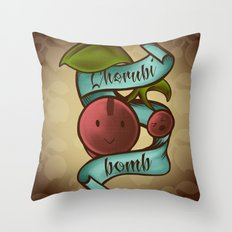 Cherubi Bomb Throw Pillow