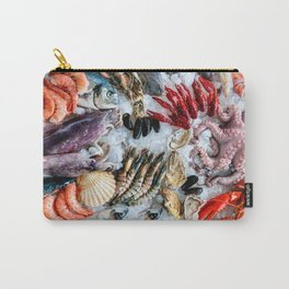seafood on ice Carry-All Pouch