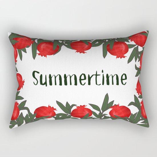 It's Summer Time Rectangular Pillow