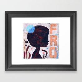 FRO Framed Art Print