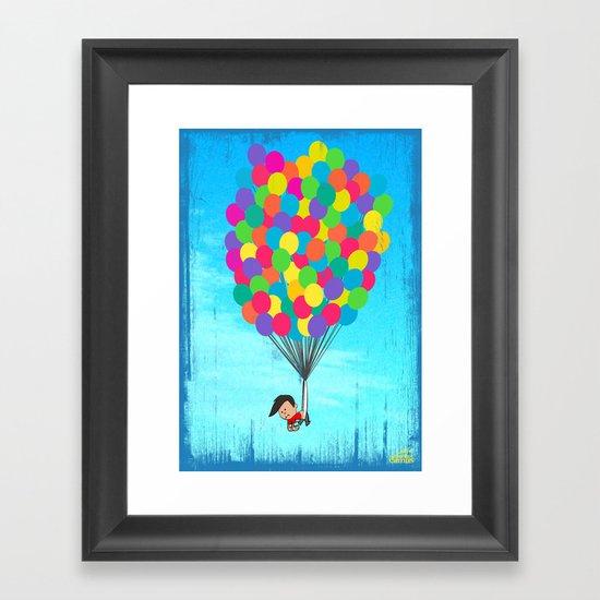 Ultimate Wedgie Framed Art Print