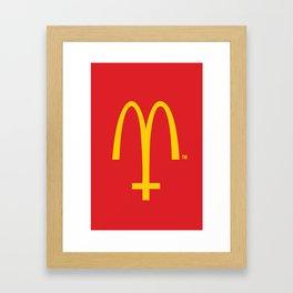 McConoclast Framed Art Print