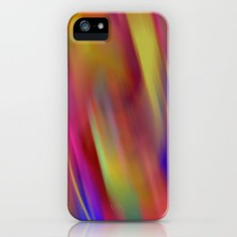 magic colouring iPhone Case