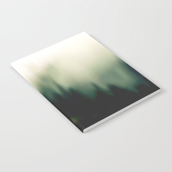 Foggy forrest 2 Notebook