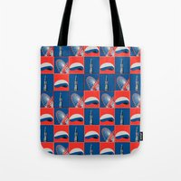 chicago Tote Bags featuring Chicago by Arts and Herbs
