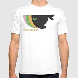 freie farben T-shirt