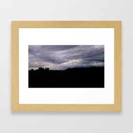 Moody Bridge II Framed Art Print