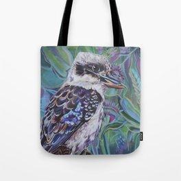 Kookaburra in the bush Tote Bag