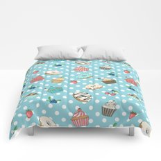 Donuts and muffins Comforters