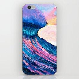 Pinkies Wave iPhone Skin