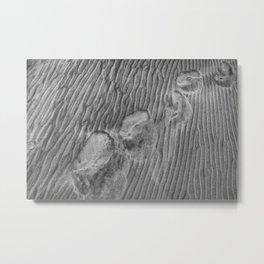 Human footprints Metal Print