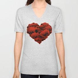 CLOUD HEART Unisex V-Neck