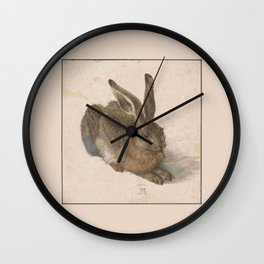 Albrecht Durer - The hare Wall Clock