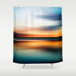 Abstract Landscape 15 Shower Curtain