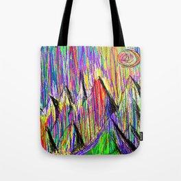 Colour Falls - Matt Texture 6 Tote Bag