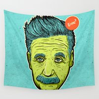science Wall Tapestries featuring Science 4ever by Lime