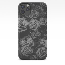 The Roses (Black and White) iPhone Case