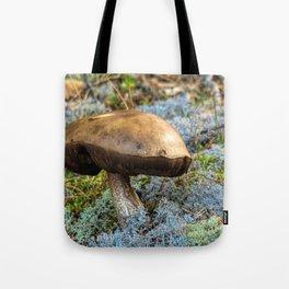 mushroom in swedish forest Tote Bag