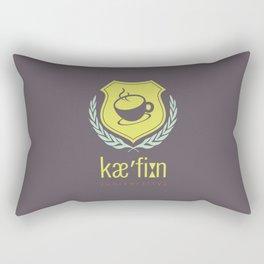 Caffeine University Rectangular Pillow