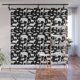 African Fauna Wall Mural