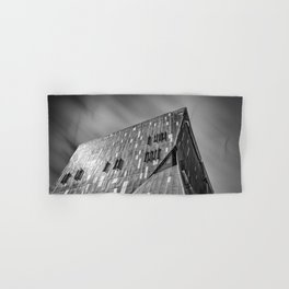 Cooper Square building in New York city Hand & Bath Towel