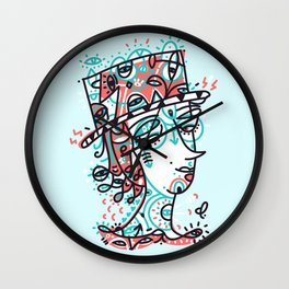 Landlord of the heart Wall Clock
