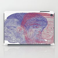 tupac iPad Cases featuring You Got the Juice Now, Kid by Dazed N Amused